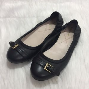 Cole Haan Palaria Ballet Flat Shoes Black Size 6B